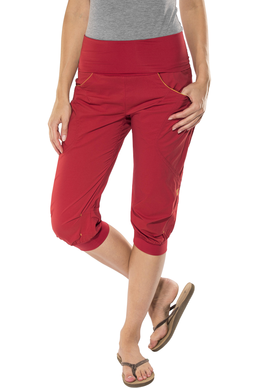 Ocun Noya - Pantalones cortos Mujer - rojo  4bb230033864